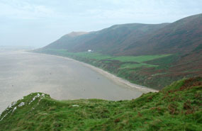 The Gower Peninsula in South Wales: New Welsh regeneration framework will aim to revitalise coastal areas
