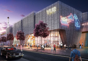 Vinyl Fcatory: plans include a cinema complex