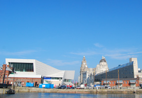 Liverpool waterfront: World Heritage site