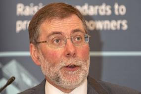 Northern Ireland housing minister Nelson McCausland