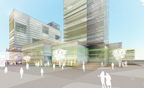 Elephant & Castle: New shopping centre CGI