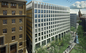 How the offices at the King's Cross Central scheme in London might look