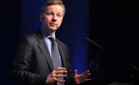Education secretary Michael Gove. Leo Wilkinson photo