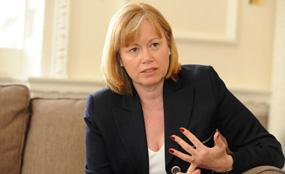 Ousted: Angela Smith