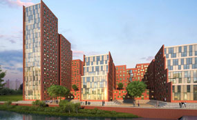 A planning application has been submitted for a scheme to house students in Salford.
