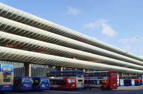 The bus station was denied listed status in 2010
