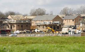 New housing in Milton Keynes