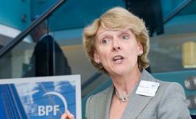 Concerns: BPF chief executive Liz Peace