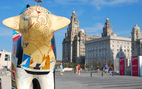 Liverpool: city's economic fortunes have slumped since 1901