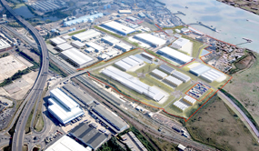 How the London Sustainable Industries Park in Dagenham Dock will look when it is finished