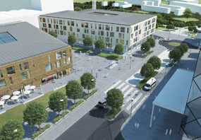 A visualisation of how the Watford Health Campus project could look