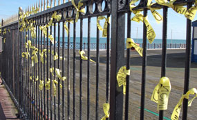 A fire on Hastings Pier came a day after a local development trust invited architects to submit designs to redevelop it.