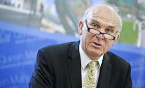 Cable: business secretary said that fund would be oversubscribed