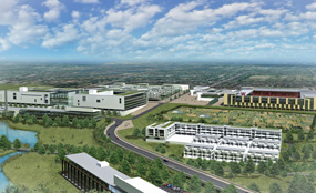 Watford Heath Campus: The 27ha scheme is scheduled to be completed by 2018.