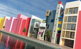 New Islington, Manchester: A residential-led mixed-use development with canals and water park