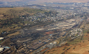 Ebbw Vale: will focus on attracting automotive firms