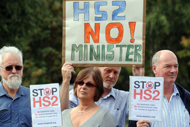 Leicestershire's leader says High-Speed 2 is not good value for taxpayers.
