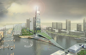 Wirral Waters: business park forms part of wider regeneration