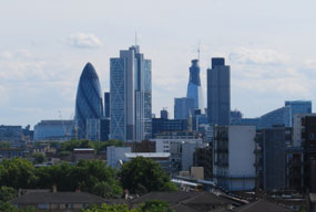 London: lower financial stress than rest of England