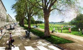 Olympic Park: neighbourhoods named