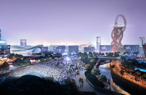 Olympic Park: design teams shortlisted