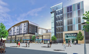Plans for the Trinity Square development include 45 retail outlets and 3,500sq metres of office space.