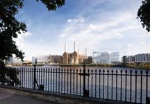 A visualisation of how the Battersea Power Station scheme could look