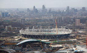 The Olympic Park came top in last year's survey of the UK's biggest physical regeneration schemes.