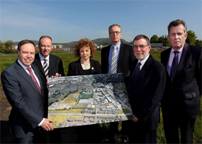 Politicians unveiled the new proposals last week (pic courtesy DSD)