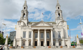 Leeds Town Hall: the city-region LEP said that an enterprise zone at Aire Valley would deliver new jobs