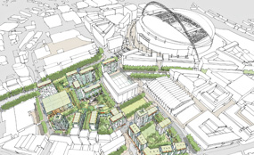 Plans for next stage of the regeneration of Wembley