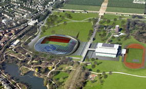 Crystal Palace: new stadium plans