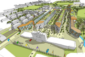 Walthamstow stadium: density and height changes