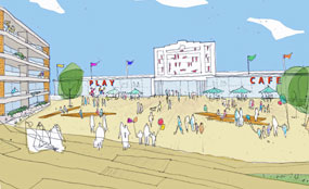 Proposals for the Walthamstow Stadium site include 334 new homes.
