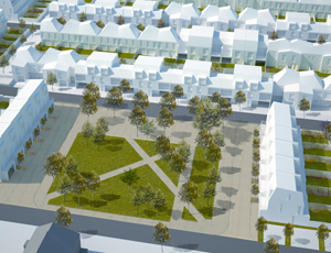 Plans for Dollis Valley housing estate in Barnet