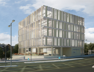 Plans for an 'Innovation Cube' submitted in Northampton