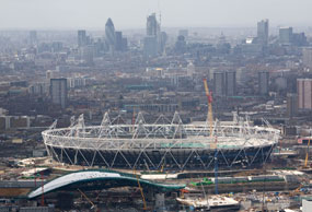 The Olympic athletics stadium is on the shortlist for this year's RIBA Sterling Prize