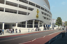 Spurs: regeneration plans include a 56,000-seat stadium
