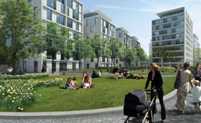 More than 800 new homes are planned for Earls Court's Seagrave Road site