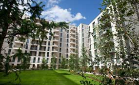 Olympic Village: sold to joint venture