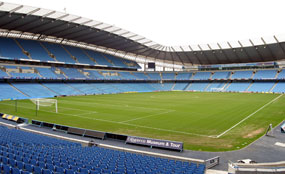 Model stadium: The home of Manchester City