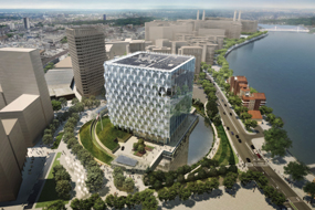 A visualisation of the proposed embassy complex