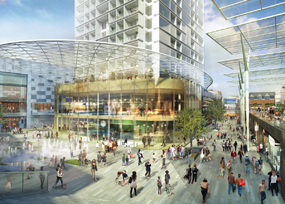 Whitgift Quarter: redevelopment plans include Centrale mall and high street
