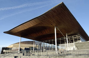 Welsh Assembly: capital spending on regeneration will fall from £55.3 million in 2011/12 to £45.8 million in 2014/15