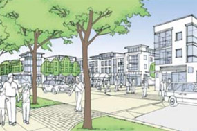 Carr Lodge: plans include a new public square