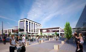 Warrington: development partner appointed