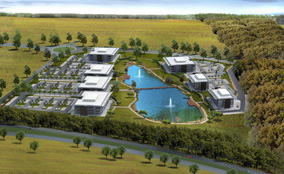 Hartlepool has granted planning permission for a 140ha development at Wynyard Park.