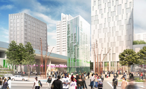 Canning Town centre plans include provision for 1,100 homes