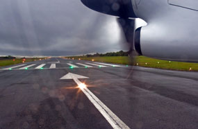 Plymouth airport: uncertain future
