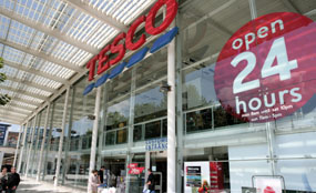 Tesco: shake-up could see fewer out-of-town hypermarkets built